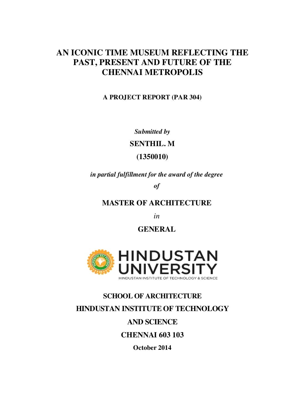 Dissertation _ Museum page 1
