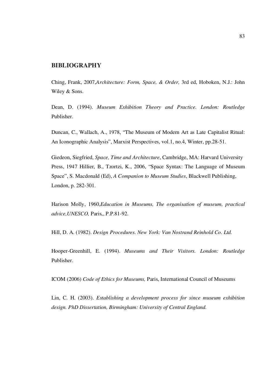 Dissertation _ Museum page 97