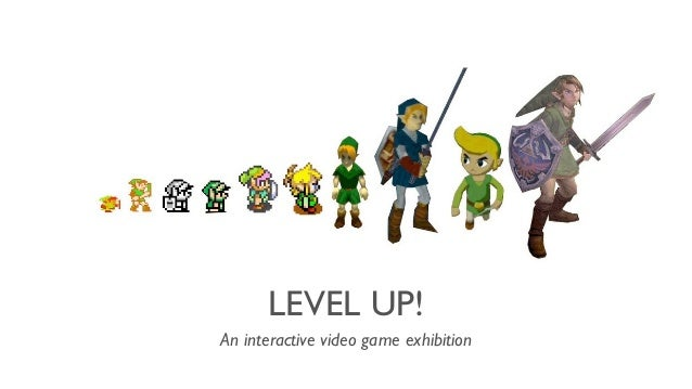 LEVEL UP! An interactive video game exhibition