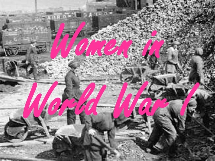 Women inWorld War I