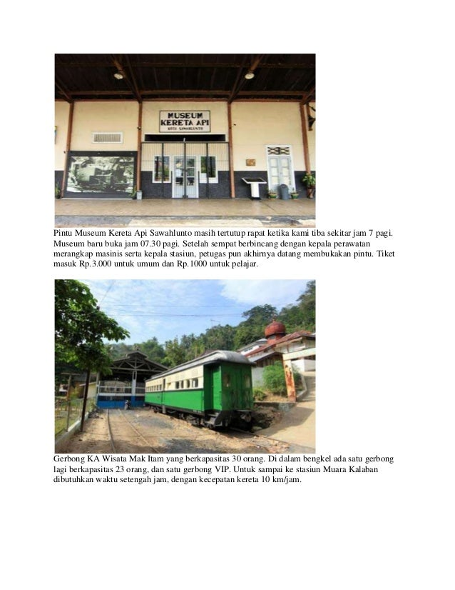 Museum Kereta Api Sawahlunto