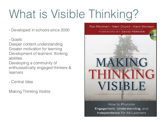 Image result for making thinking visible