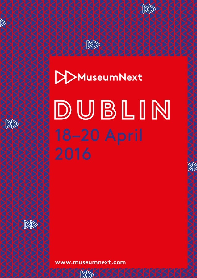 18–20 April 2016 www.museumnext.com