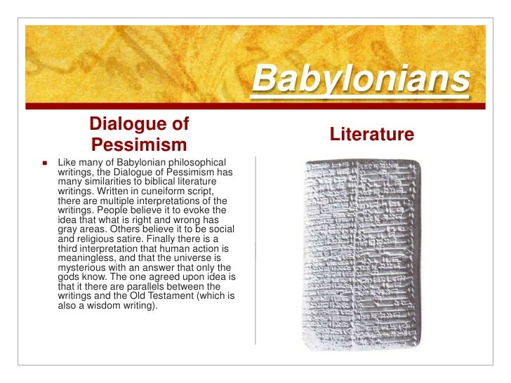 The interpretation of the story of the gilgamesh epic from the biblical perspective