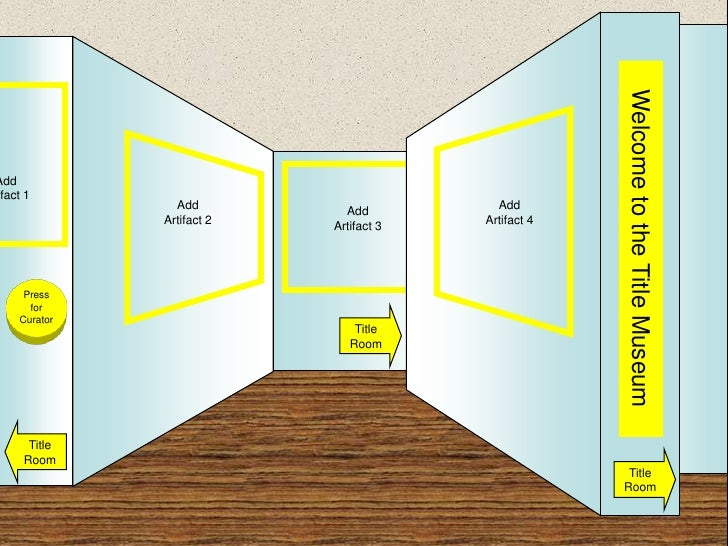 Museum Template Blue Yellow 2
