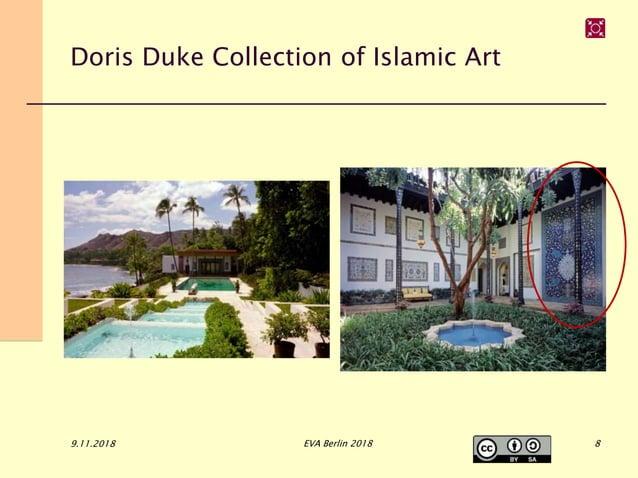Doris Duke Collection of Islamic Art 9.11.2018 EVA Berlin 2018 8