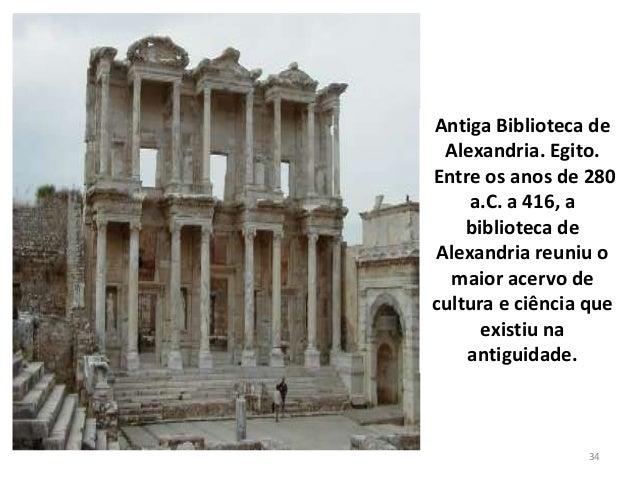 Resultado de imagem para A Biblioteca e o Museu de Alexandria