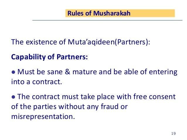 Musharkah Concept