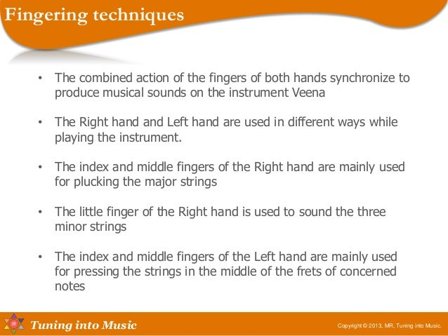 Fingering methods