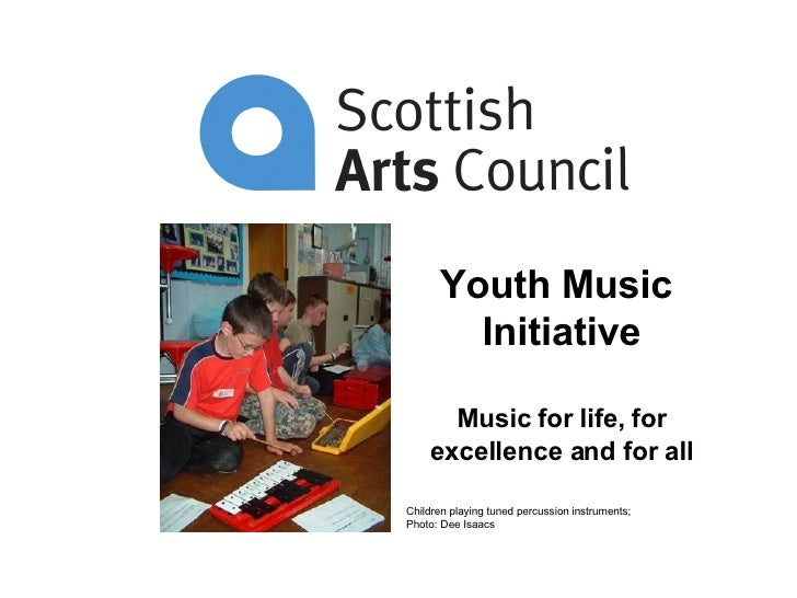 Youth Music  Initiative Music for life, for excellence and for all Children playing tuned percussion instruments;  Photo: ...