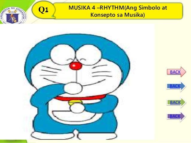 MUSIKA 4 –RHYTHM(Ang Simbolo at Konsepto sa Musika) Q1 MUSIKA 4 –RHYTHM(Ang Simbolo at Konsepto sa Musika) Q1 BACK BACK BA...