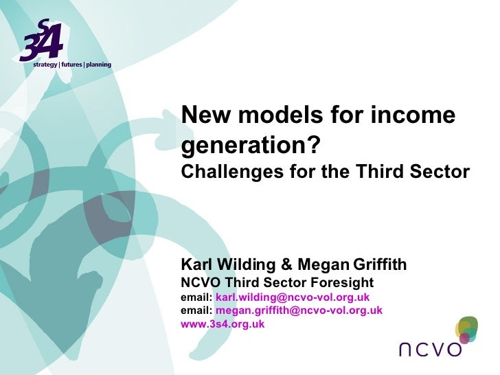 Karl Wilding & Megan Griffith NCVO Third Sector Foresight email:  [email_address] email:  [email_address]   www.3s4.org.uk...