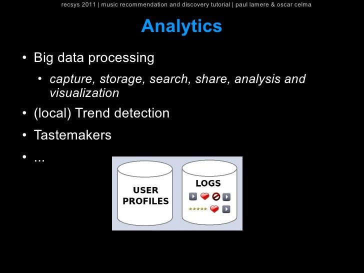 recsys 2011   music recommendation and discovery tutorial   paul lamere & oscar celma                                     ...