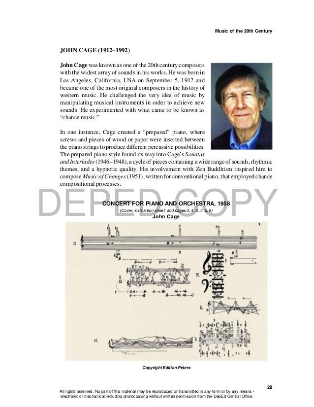 """an analysis of 433 the silent piece by john cage """"there will never be silence,"""" an exhibition at the museum of modern art, examines the intersection of john cage's """"4'33"""" """" with the work of contemporaneous visual artists."""