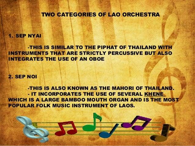 Laos Music |Sep Nyai Instrument