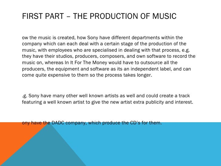 essay about music industry Analyse changes in technology and global communication that have revitalised  the music industry in the past ten years.