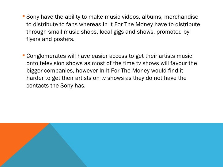 Essay about music industry
