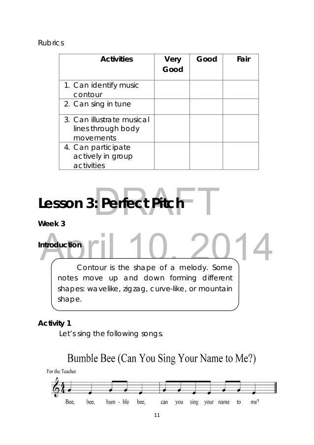 Lyric bumble bee song lyrics : Grade 3 Music Learners Module