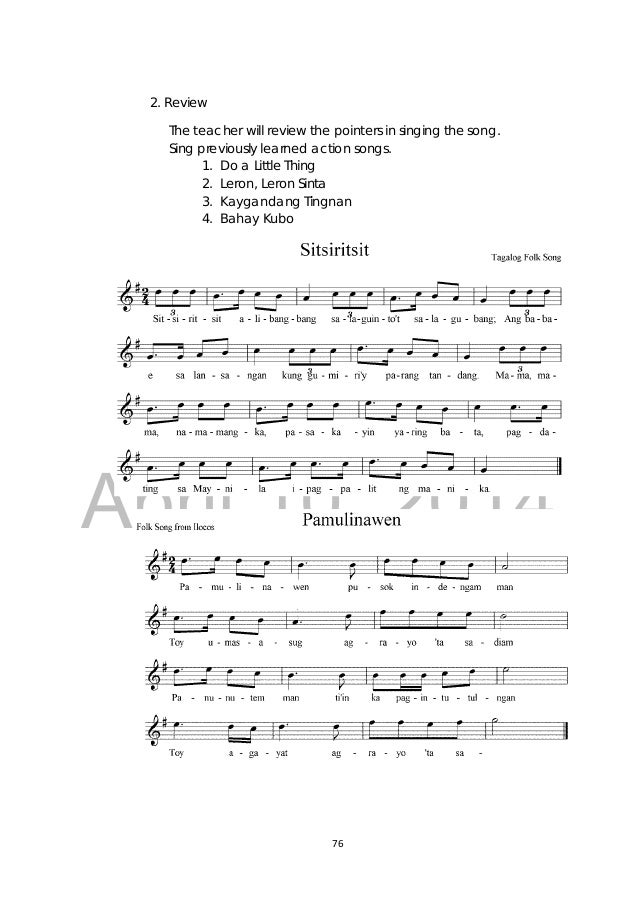 Grade 3 Music Teachers Guide