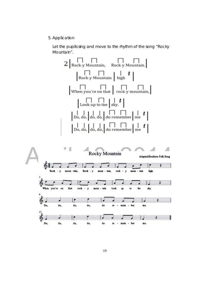 Music 3 Tg Full English