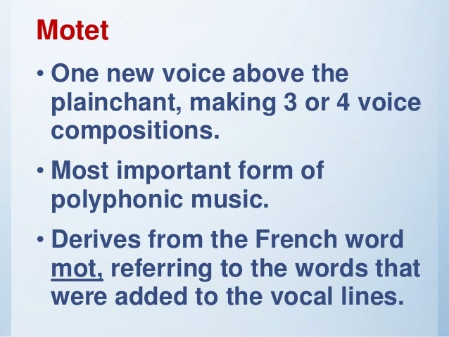 Music 9 lesson #1 music of the medieval period