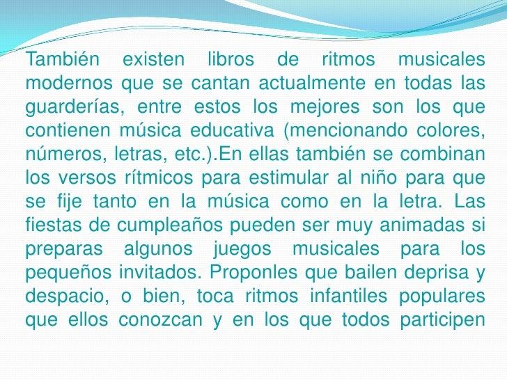 Musica niños Slide 3