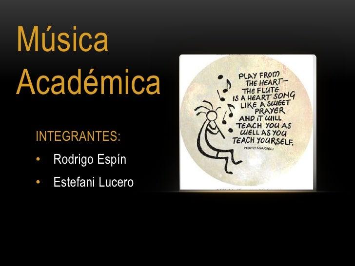 musica academica