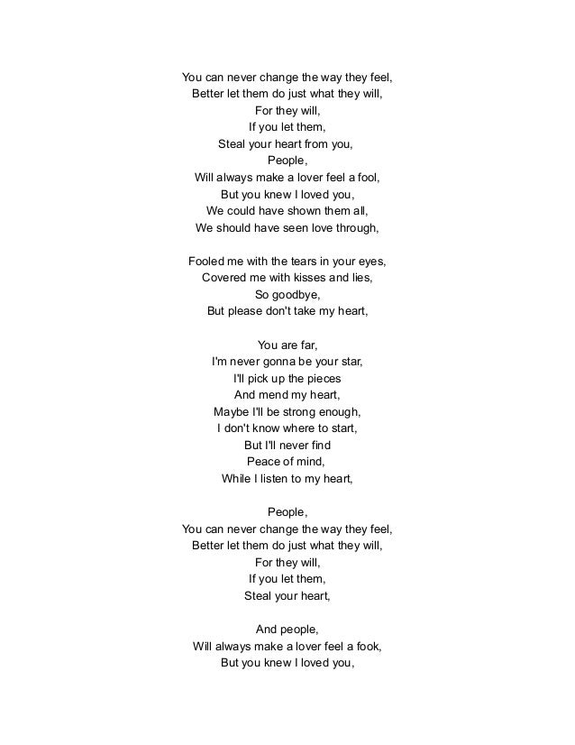 Lyric pick up the pieces lyrics : Musica en ingles