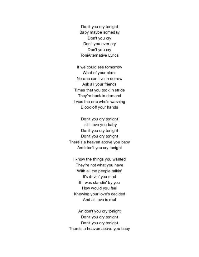 You gotta have friends lyrics