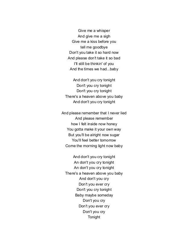 Lyric don t tell me what to do lyrics : Musica en ingles