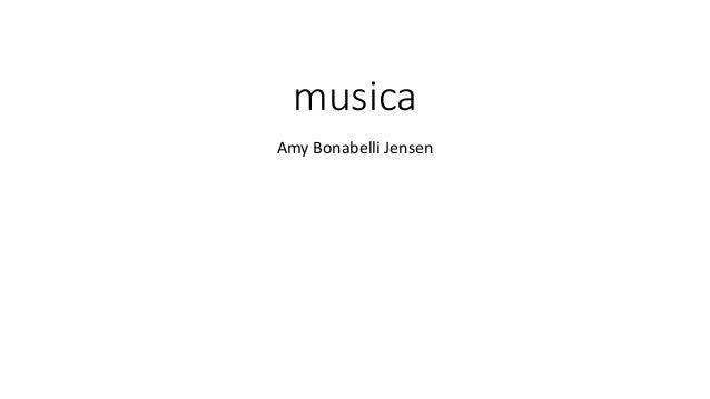 musica Amy Bonabelli Jensen