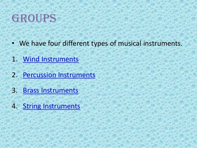 Printables 4 Classification Of Musical Instruments 4 types of musical instruments scalien scalien