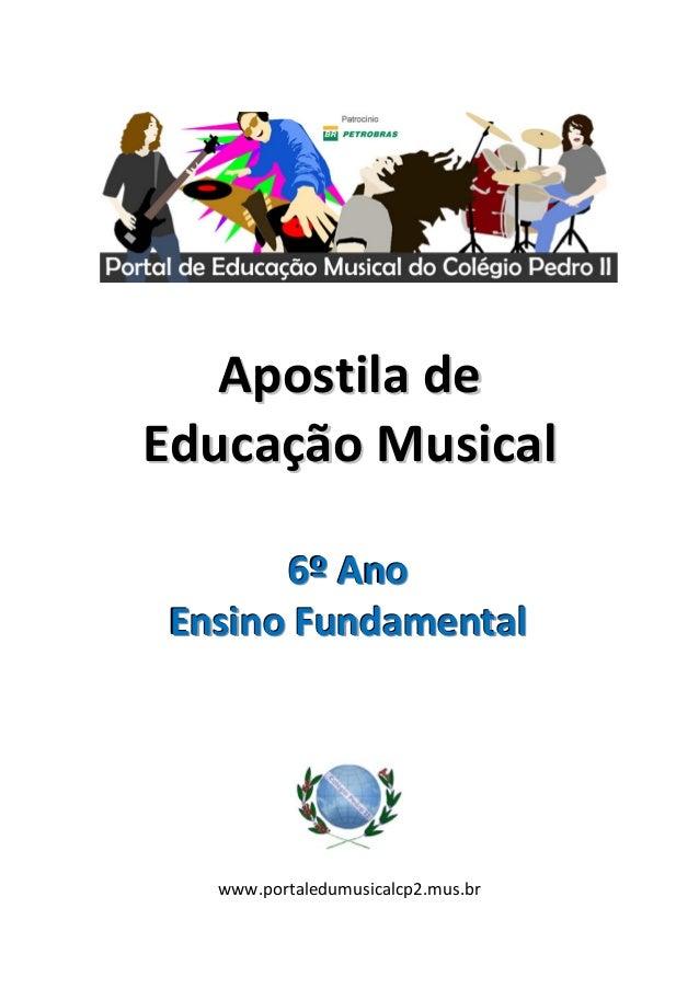 Apostilade    EducaçãoMusical               ...