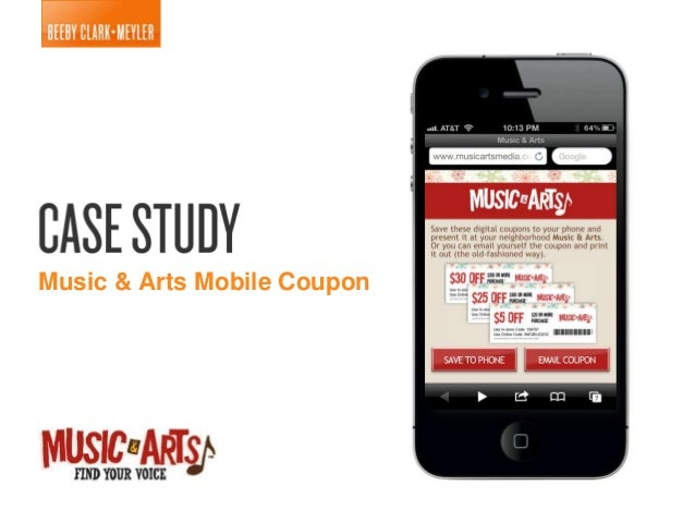 Music & Arts Mobile Coupon