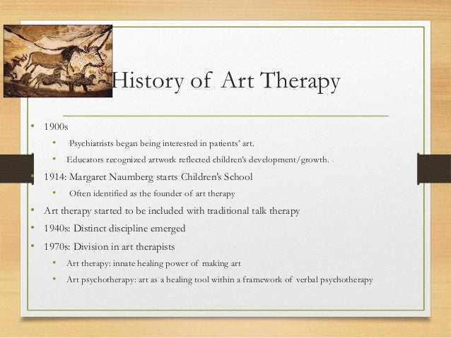 The History of Art Therapy