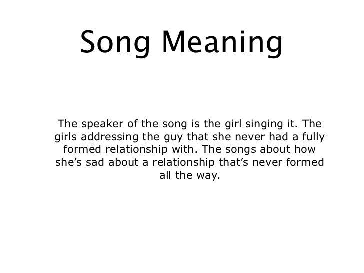 english sad songs lyrics