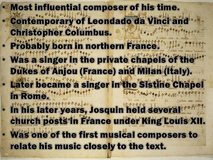Music Appreciation Topic II: Music of the Middle Ages and ...