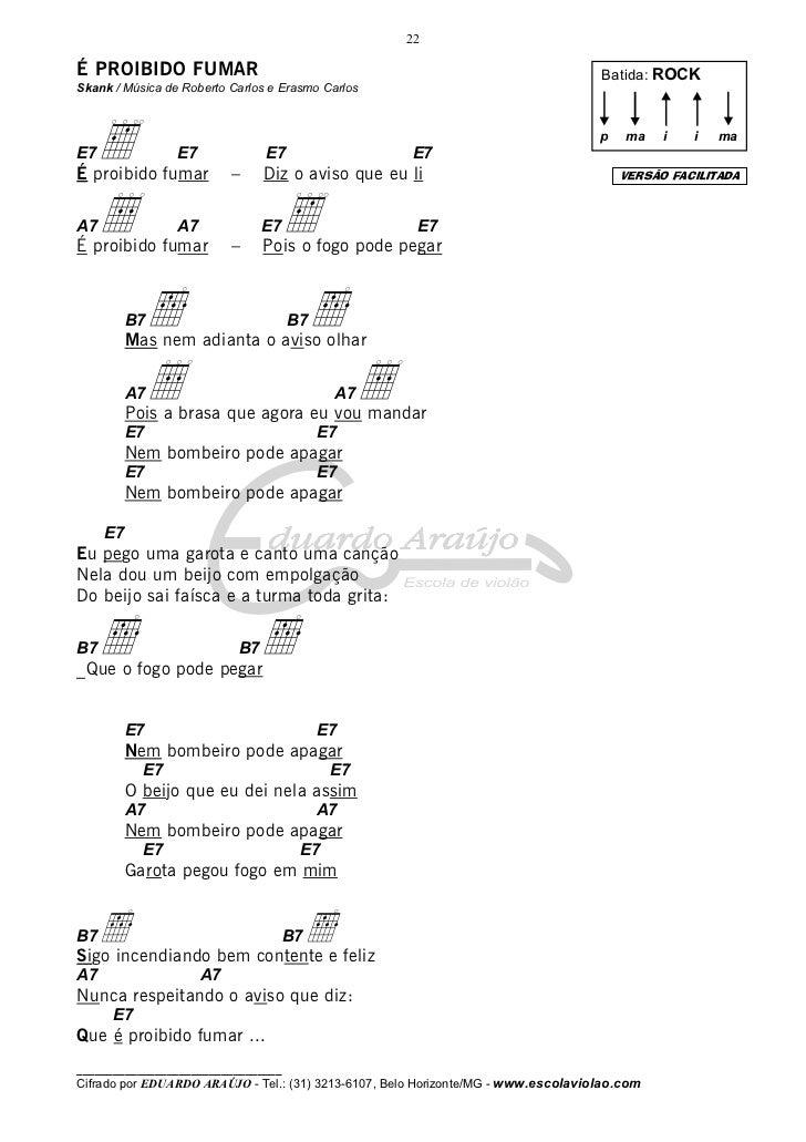 Conhecido Musicas cifradas faceis 01 SD72