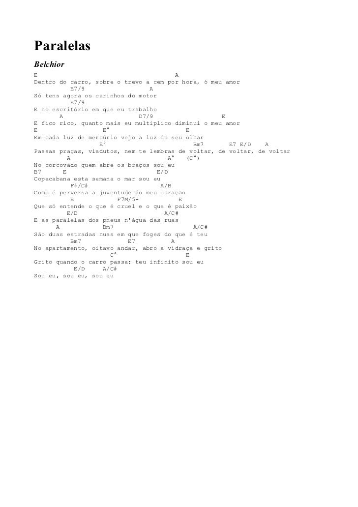 Musicas cifradas mpb 6