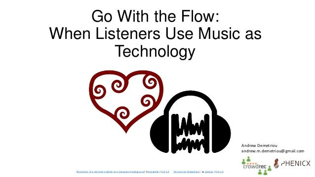 """Go With the Flow: When Listeners Use Music as Technology """"Illustration of a red heart isolated on a transparent background..."""
