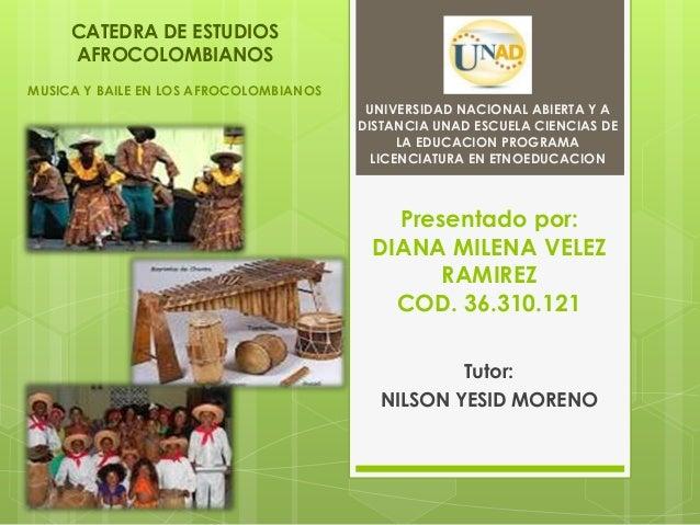 Presentado por:DIANA MILENA VELEZRAMIREZCOD. 36.310.121Tutor:NILSON YESID MORENOUNIVERSIDAD NACIONAL ABIERTA Y ADISTANCIA ...