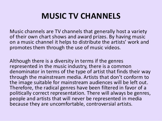Music TV Channels