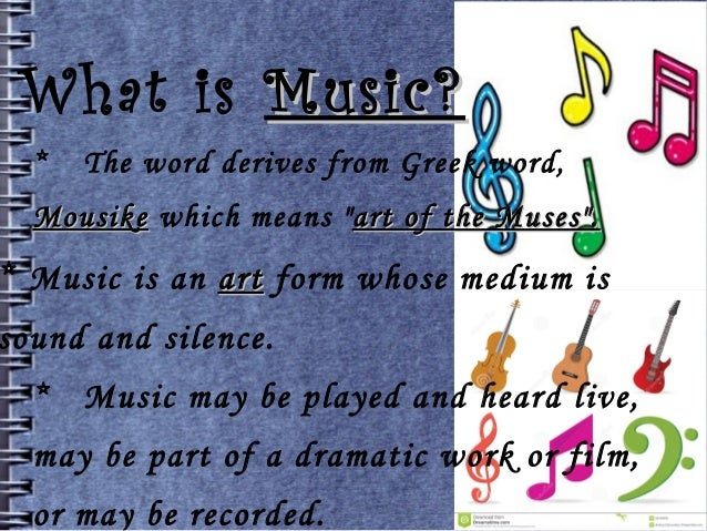 What is musically