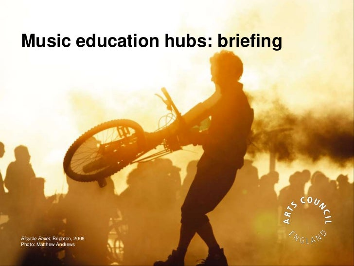 Music education hubs: briefingBicycle Ballet, Brighton, 2006Photo: Matthew Andrews