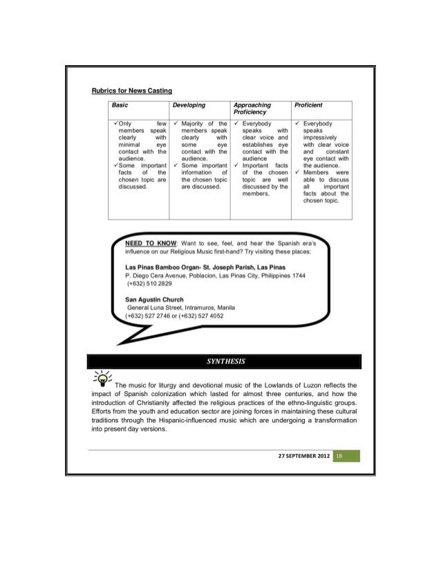 Music g7 learner's module qtr 1 to qtr4