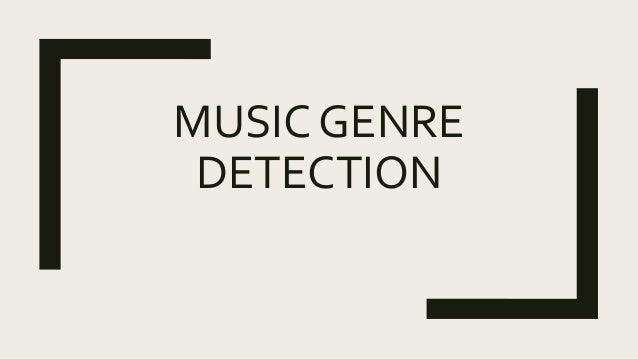 Music genre detection using hidden markov models