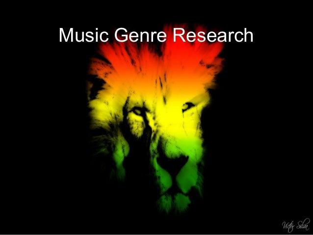 Music Genre Research