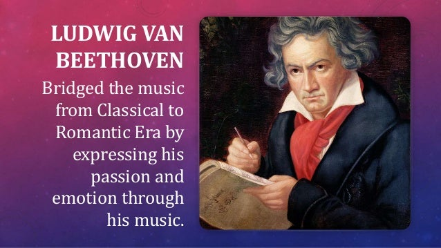 Composer Who Bridged The Classical And Romantic Periods