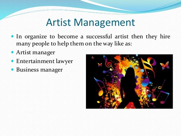 Elements of Music Industry Albert James Burleson – Music Artist Manager