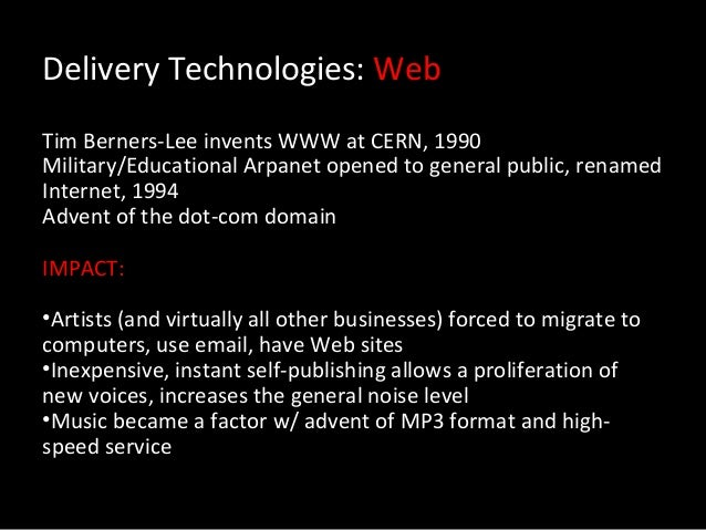 Music Industry & Technology